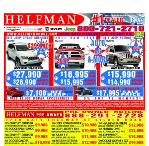 Helfman Vehicle Specials File