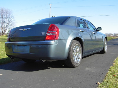 Photo Of The Actual Chrysler 300 - President Obama's Car b