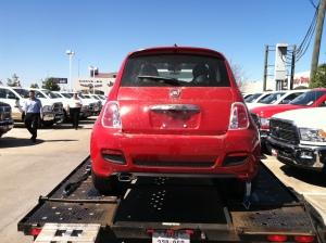 Fiat 500 Arrival.