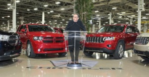 Sergio Marchionne Announcing Loan Payback