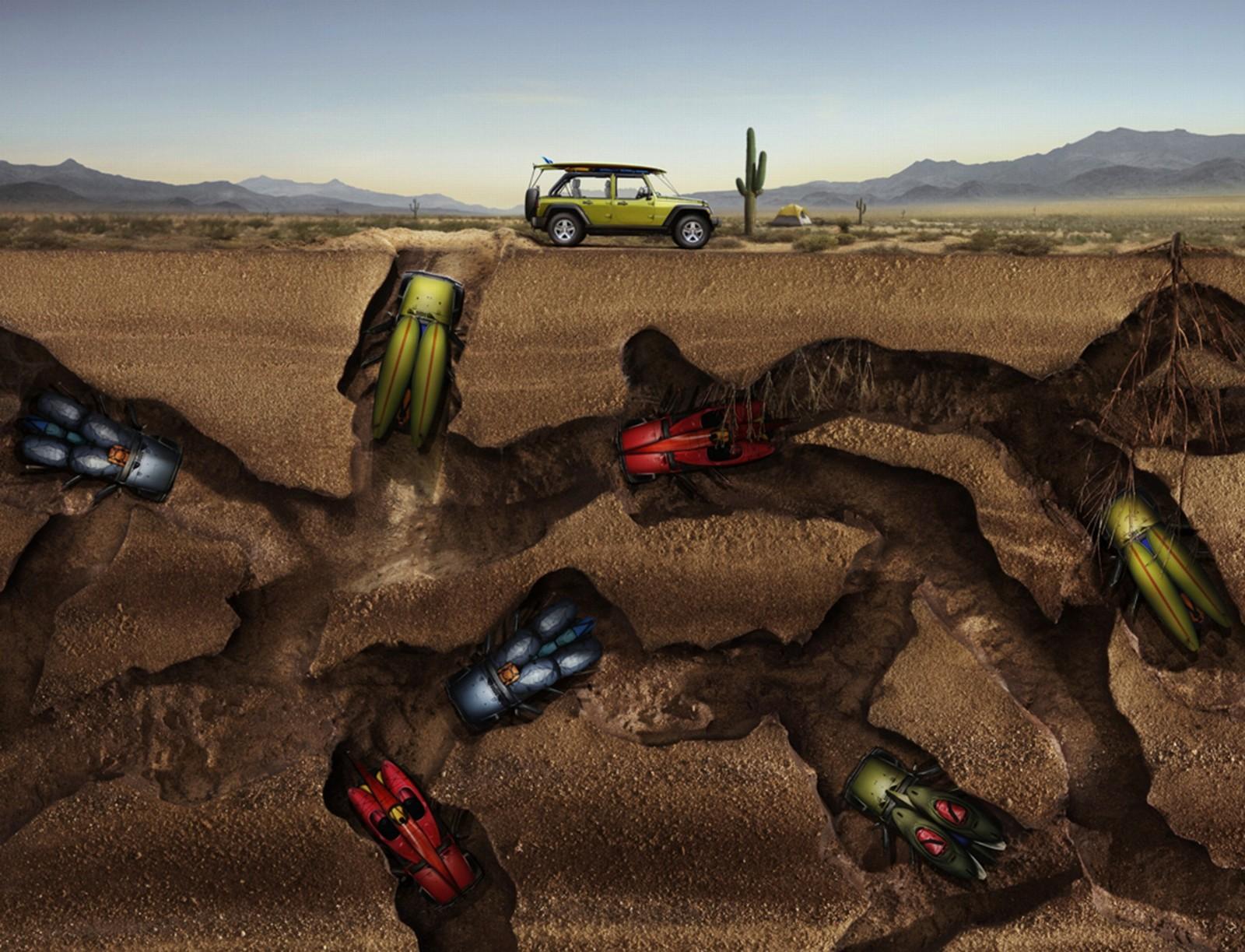 Desktop Wallpaper Jeep Bugs Helfman Cars