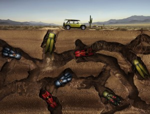 "Desktop Wallpaper ""Jeep Bugs"""
