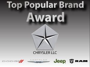 Top Brand Award Chrysler