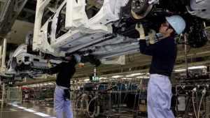 Japan Auto Plant