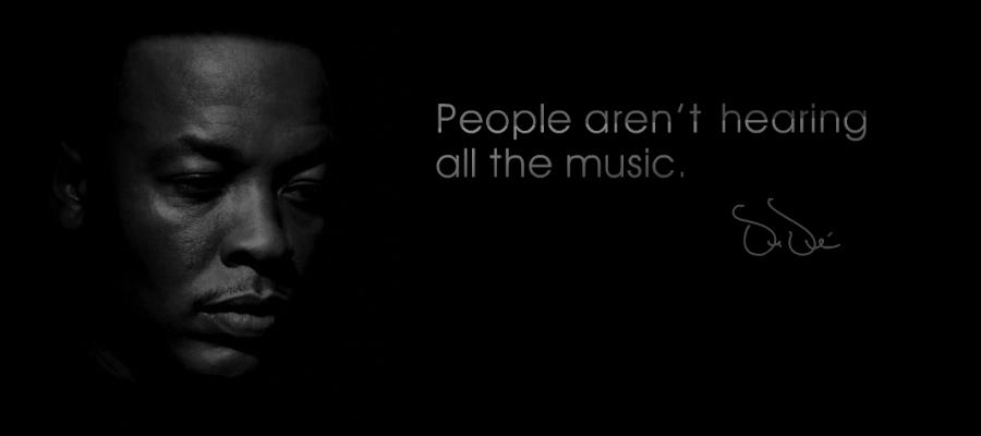 Dr. Dre Beats Slogan