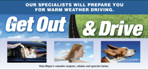 Get Out And Drive Campaign