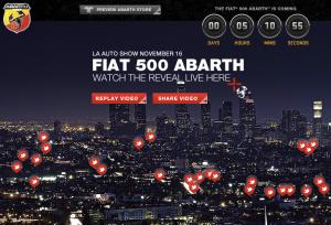 Abarth Website Countdown