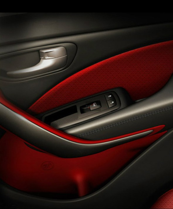 Interior Door Panel Of 2013 Dodge Dart