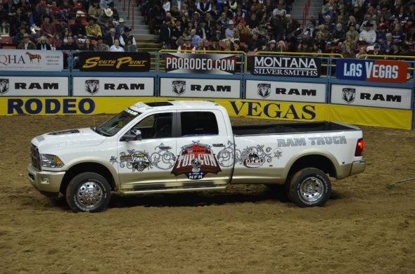rodeo truck