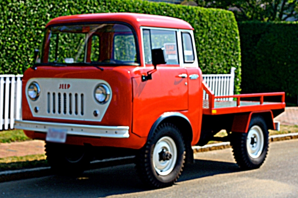 Jeep Fc 170 Flat Bed Truck http://helfmancars.wordpress.com/2012/01/08/do-you-know-the-name-of-this-jeep/