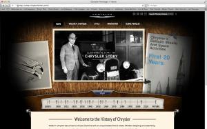Chrysler History Museum Website